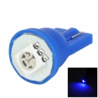 LGFOX T10 0.5W 10lm SMD 5050 LED Blue Light Car Bulb - Blue