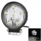 18W 1080lm 6000K 6-LED White Light Car Indicator Lamp (10~30V)