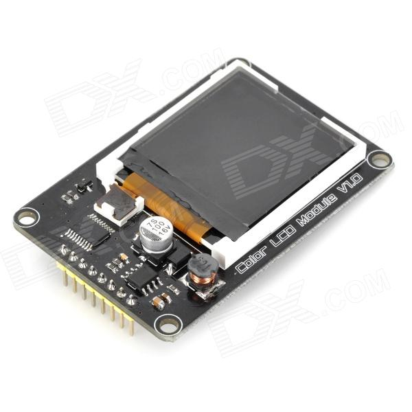 1.5 128 x 128 Color LCD Module Expansion Board - Black + White nokia 5110 lcd module white backlight for arduino uno mega prototype