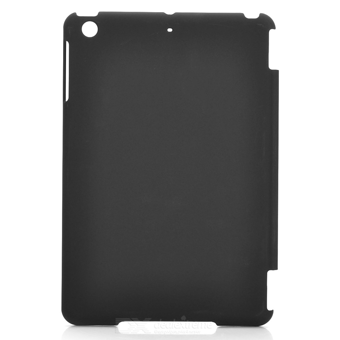Protective Matte PC Back Case for Ipad MINI - Black protective matte frosted back case for htc one x s720e black