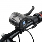 RUSTU D75 3460lm 3-Mode Cool White Light Bicycle Headlamp w/ 5 x Cree XM-L T6 - Black (6 x 18650)