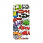 Graffiti Style Protective ABS Back Case for Iphone 5 - Multicolored