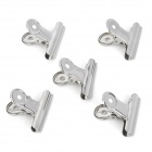 20669 Large Stainless Steel Clips - Silver (5 PCS)