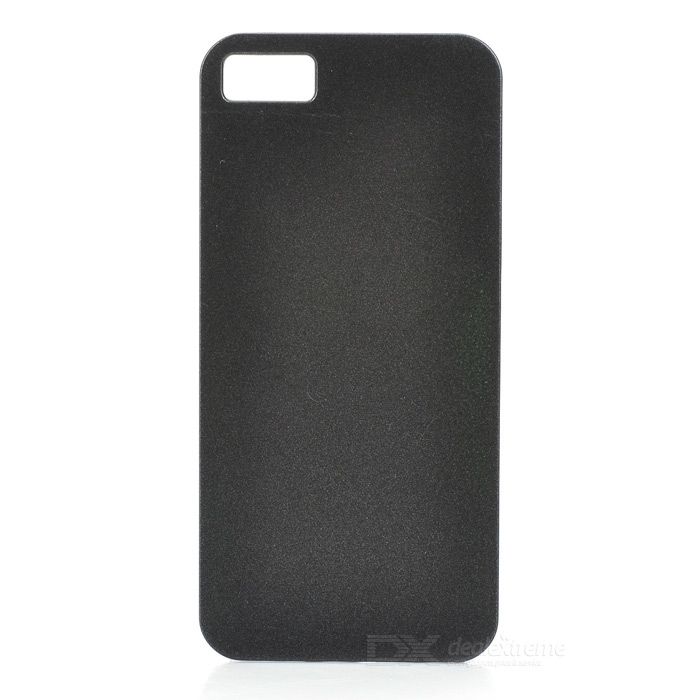 Protective Aluminum Alloy Back Case for Iphone 5 - Black liberty project чехол флип для huawei ascend p7 black