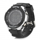 Spovan blade-III-B Outdoor Sport PU Band Digital Wrist Watch w/ Altimeter + Barometer + Temperature