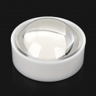 JR-24mm 60 Degree Angle LED Lens - Transparent + White (5 PCS)