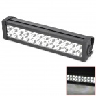 Waterproof 72W 4300lm 6000K 24-LED White Light Car Work / Project / DIY Light Bar (DC 10~30V)