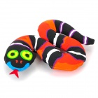 Tropical Rain Forest Snake Toy / Doll for Pet Dog - Multicolored