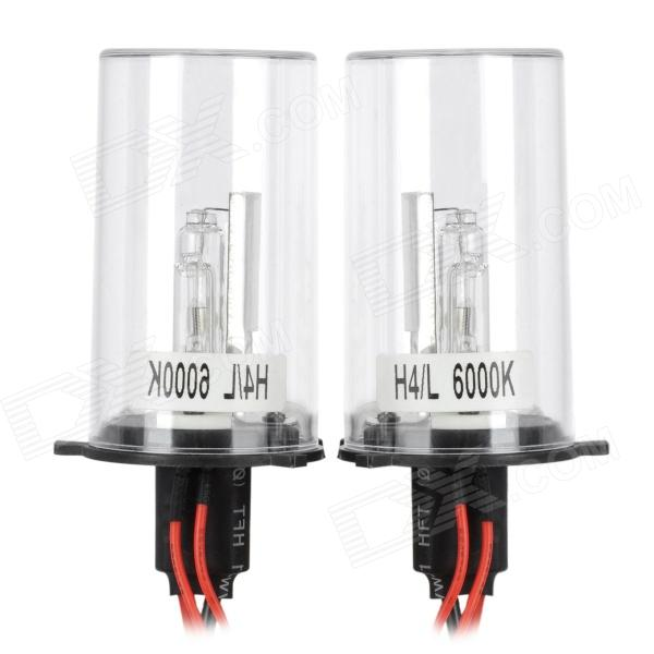 H435W452 H4 35W 2500~3200lm HID Blue White Car Lights (12V / 2 PCS)
