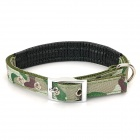 JCC-769-2 Adjustable PP + Foam Pet Collar for Dogs / Cats - Military Green