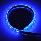 DTYX48B Waterproof 5W 550lm 48-SMD 3528 LED Blue Light Soft Lamp Strips (60cm / 2 PCS)