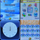 "AOKE 812 Watch Phone w/ 1.44"" Resistive Screen + Triple-Band + Single-SIM + Bluetooth - White"