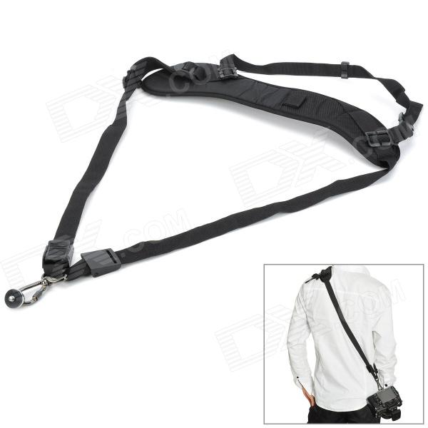 I-BK One Shoulder Strap for DSLR Camera - BlackCamera Straps<br>ModelIForm  ColorBlackMaterialPUCompatibleQuantity1ColorBlackMaterialPUCompatibleCompatible ModelsDSLRPacking List<br>