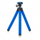 Fotopro RM-100 Octopus Style Flexible Mini Tripod w/ Head for Digital Camera - Blue