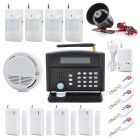 "Patrol Hawk G50B 3.1"" LCD Industry Household GSM Anti-Theft Intelligent Alarm System - Black"