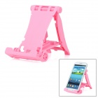 Protective Plastic Desktop Stand for Iphone 5 / 4S / Samsung i9300 / N7100 - Pink