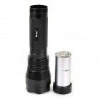 RUSTU R40 Xenon HID R24A 24W 1500lm Neutral White Rechargeable Flashlight - Black
