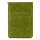 Genuine Leather Protective Pouch Case for Ipad MINI - Green