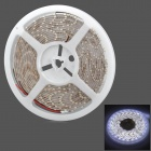 Waterproof 24W 2100lm 300-SMD 3528 LED White Light Car Decoration Soft Lamp Strip (5m)