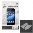 Protective Clear Front Screen Protector + Back Skin Film Guard Set for Iphone 5 - Transparent