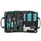 Pro'skit 1PK-940KN Fiber Optic Tool Kit - Green + Black + Silver