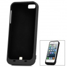 Externe 2500mAh Emergency Power Battery Charger Case für iPhone 5 - Black