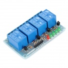 FC-16-I 4-Channel 24V Low Level Trigger Relay Module - Blue