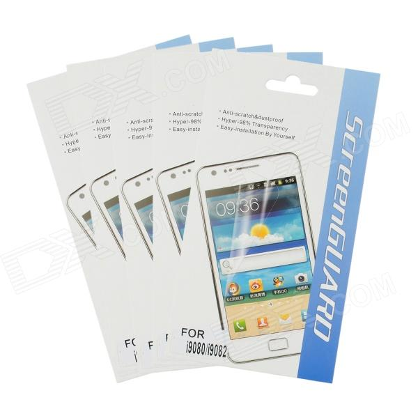 Protective Matte HD PET Screen Film Guards for Samsung Galaxy Grand i9080 - Transparent (5 PCS)