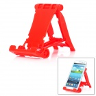 Protective Plastic Desktop Stand for iPhone 5 / 4S / Samsung i9300 / N7100 - Red