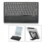AK630 Bluetooth V3.0 Keyboard w/ 4500mAh Emergency Power Battery Charger for Ipad / Tablets - Black