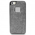 BASEUS TRAPIPH5-0S Marten Pattern PU Leather Back Case for iPhone 5 - Silver