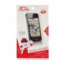 Anti Fingerprint & Glare Mirror Screen Protector w/ Cleaning Cloth for Iphone 5 - Transparent
