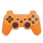 Bluetooth V3.0 Double Shock Wireless Controller for PS3 / PS3 Slim / PS3 CECH4000 - Orange