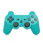 Bluetooth V3.0 Double Shock Wireless Controller for PS3 / PS3 Slim / PS3 CECH4000 - Green