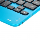 Stylish Bluetooth V3.0 59-Key Keyboard for Ipad MINI - Blue