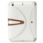 Stylish Protective PU Leather Case for Ipad MINI - White