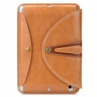 Stylish Protective PU Leather Case for Ipad MINI - Coffee