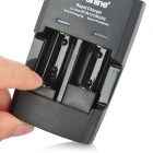 Soshine SC-S5 Dual-Slot Lithium Battery Charger for RCR123 + More - Black (AC 100~240V )