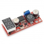 LM2596 DC-DC 3-Digit Tensión Módulo Fuente de alimentación regulada w / Voltage Meter Display - Rojo