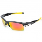 OREKA WG002 Sport UV400 Protection Sunglasses Goggles - Black + Yellow