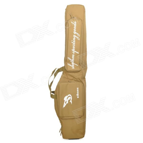 цены Stbaor MCB-SH Dual-Layer Nylon Bag for Air Gun / Fishing Rod - Earthy