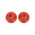 Replacement Thumb Joystick Stick Cap for Xbox 360 - Red (Pair)
