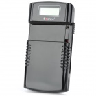 "Soshine M20-LCD 1"" LCD Display Universal Li-ion Battery Charger - Black (EU Plug / AC 100~240V)"