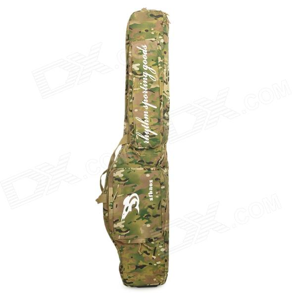 Stbaor MCB-JS Dual-Layer Nylon Bag for Air Gun / Fishing Rod - Camouflage Green