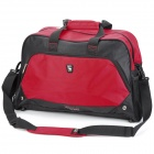 OIWAS 7003 Outdoor Traveling Leisure Water Resistant Nylon Bag - Red + Black (37L)