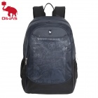 OIWAS 4090 Fashionable Pattern Leisure Business Travel Shoulder Backpack - Grey Blue (31L)