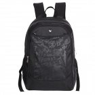 OIWAS 4090 Fashionable Pattern Leisure Business Travel Shoulder Backpack - Black (31L)