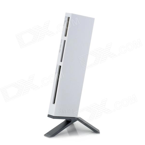 Sandisk ImageMate SDDR-289 All-in-One USB 3.0 Card Reader - White ssk scrm 060 multi in one usb 2 0 card reader for sd ms micro sd tf white