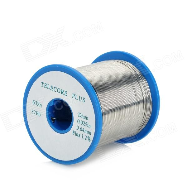 0.64mm Tin Solder Soldering Welding Iron Wire - Silvery Grey (150m) 2017 wire with stand set welding soldering solder iron tip cleaner cleaning steel 1pcs