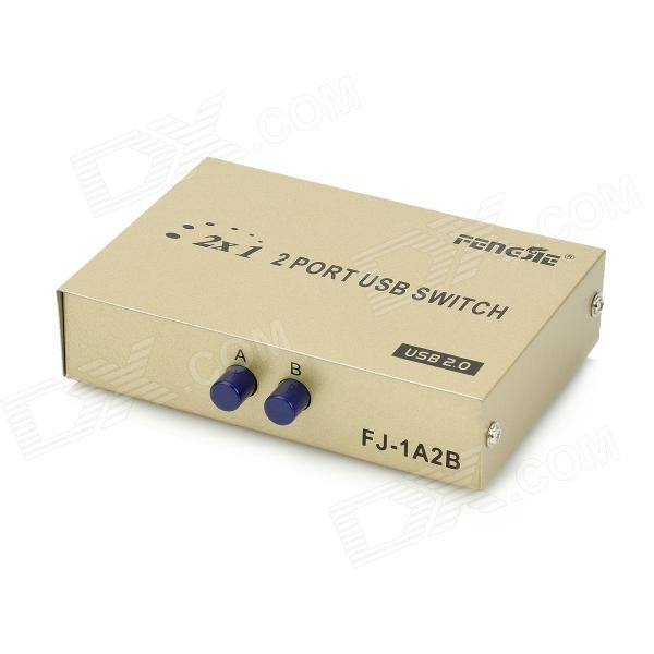 1-In 2-Out High Speed ??Non-Power USB Switch - Bruin Geel